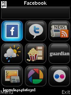 Screenshot0109 Snaptu v1.2.5 Facebook,Twitter,Picasa,Livescore,RSS R