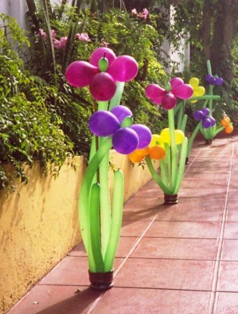 jardines decorados para fiestas