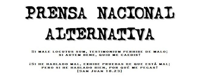 PRENSA NACIONAL ALTERNATIVA