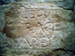 Sepultura de Farell (ermita de Sant Sebastià de Montmajor)