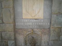 Font de La Farella (Cabanabona, La Noguera)