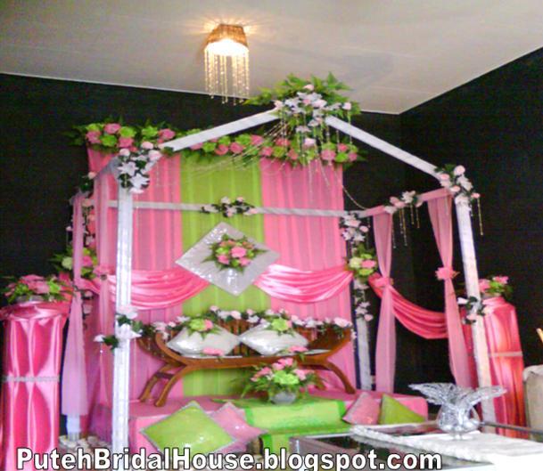 puteh bridal house contoh hiasan pelamin
