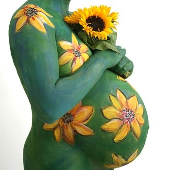 The Mama Mosaic Body Painting For Pregnant Women