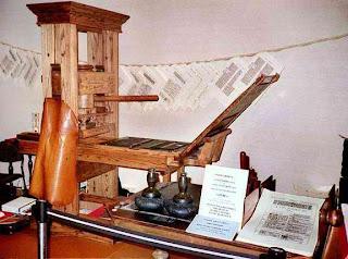 Mesin Cetak Pertama Didunia