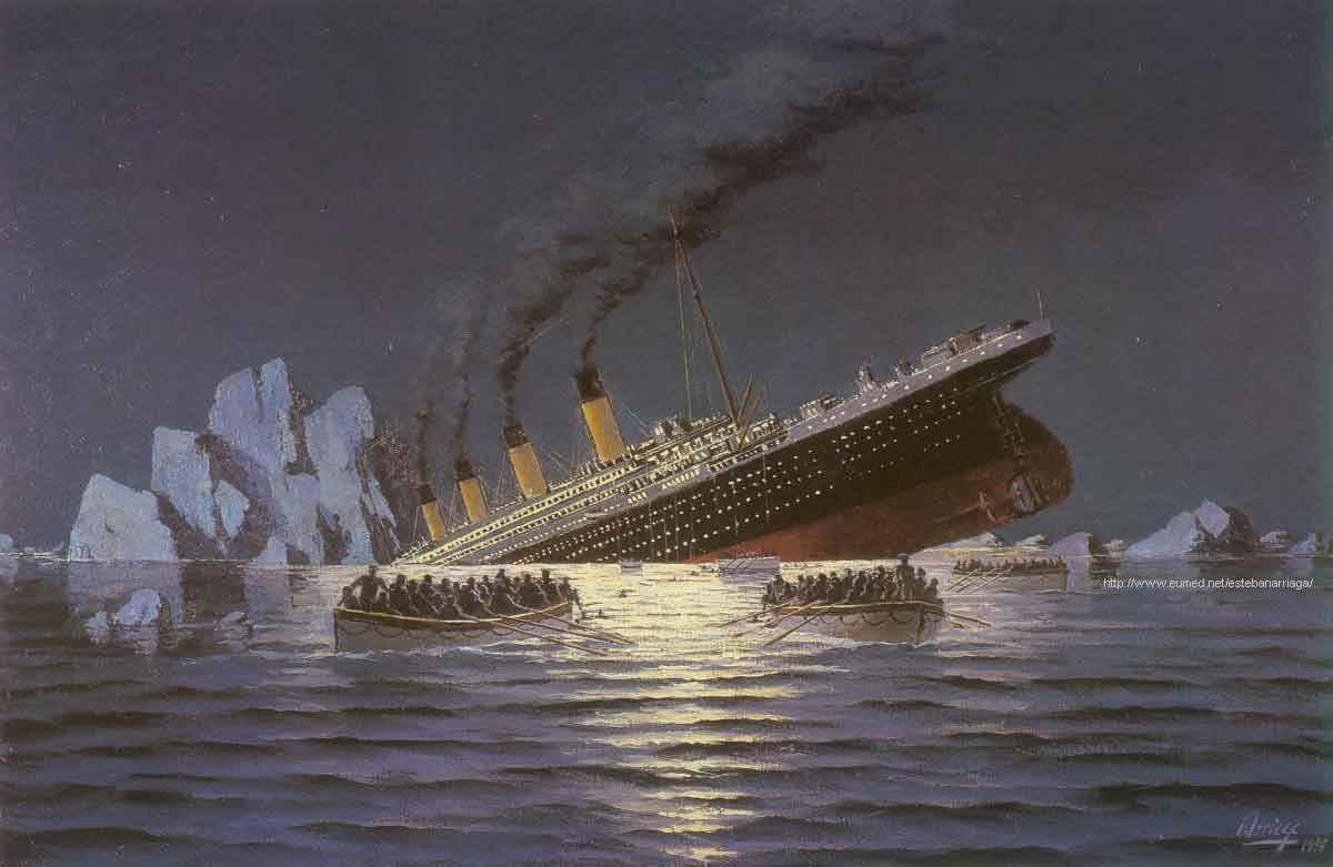 La verdadera historia del titanic.