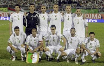 Los 32 equipos que iran al mundial Argelia