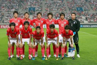 Los 32 equipos que iran al mundial Corea+del+Sur