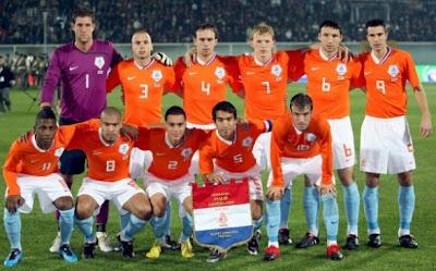Los 32 equipos que iran al mundial Holanda