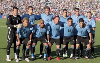 Los 32 equipos que iran al mundial Uruguay