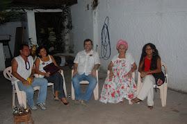 Márcio Meira visita o Mansu Nangetu.