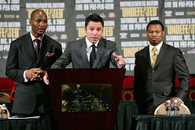 Mosley vs Mayweather Fight
