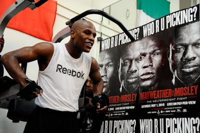 Floyd Mayweather Jr. Workout