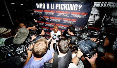 Floyd Jr. faced Media Photos