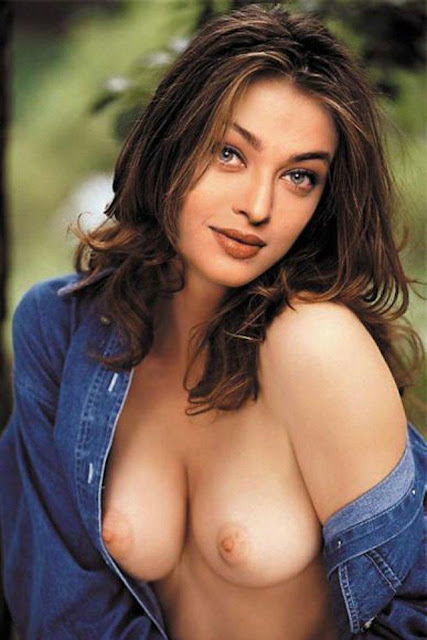 Naked Bollywood Actress Aishwarya Rai
