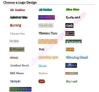 Tools Pembuat Logo Blog