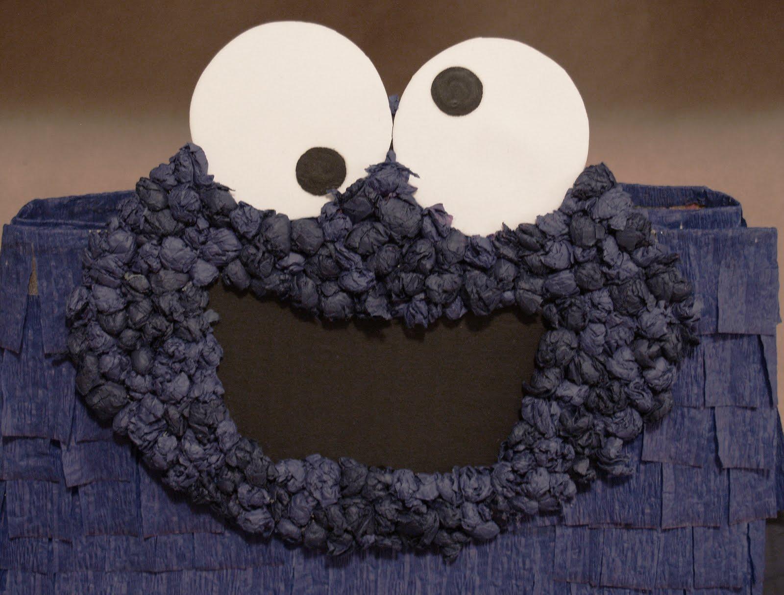 Cookie Monster Paper Bag Pi 241 Ata