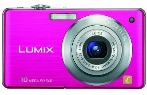 Buy Cheap Lumix - Panasonic Lumix DMC-FS7 10MP Digital Camera with 4x MEGA Optical Image Stabilized Zoom and 2.7 inch LCD (Pink)