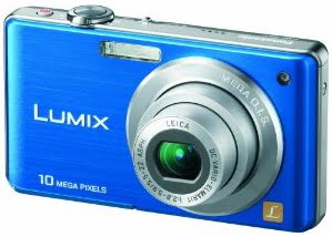 Buy Cheap Lumix - Panasonic Lumix DMC-FS7 10MP Digital Camera with 4x MEGA Optical Image Stabilized Zoom and 2.7 inch LCD (Blue)