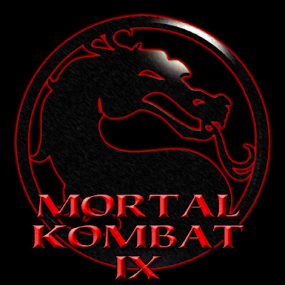 mortal kombat 9 logo wallpaper. mortal kombat 9 logo