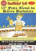 CARTAZ DA FESTA ALEMÃ DE 2007