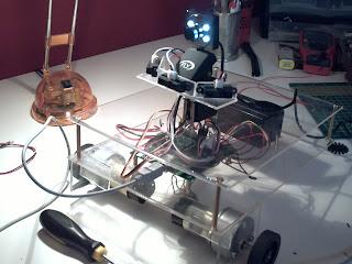 Microsoft Robotics Studio C# ile yapılan bir robot