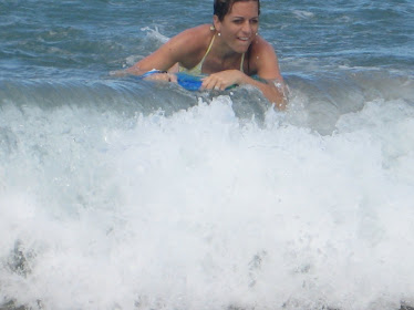"""Catching some """"killer waves"""""""