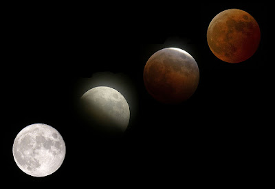 full moon lunar eclipse