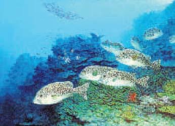 Lukisan ajis mengekalkan elemen keindahan alam