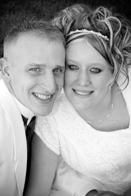 LINLEY AND KASEY THE DAY OF THEIR WEEDING AUGUST 25, 2007
