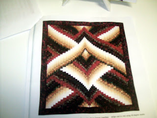 Fractured Bargello Jacket Pattern - Nanette's Quilts:Patterns