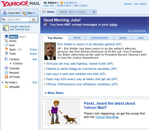 imail how to change mailing list