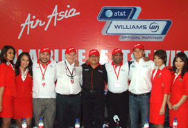 The AirAsia and AT&T Williams Partnership