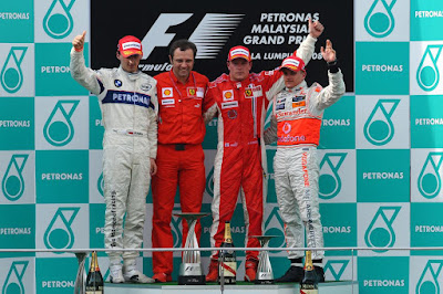 2008 F1 Petronas Malaysian Grand Prix
