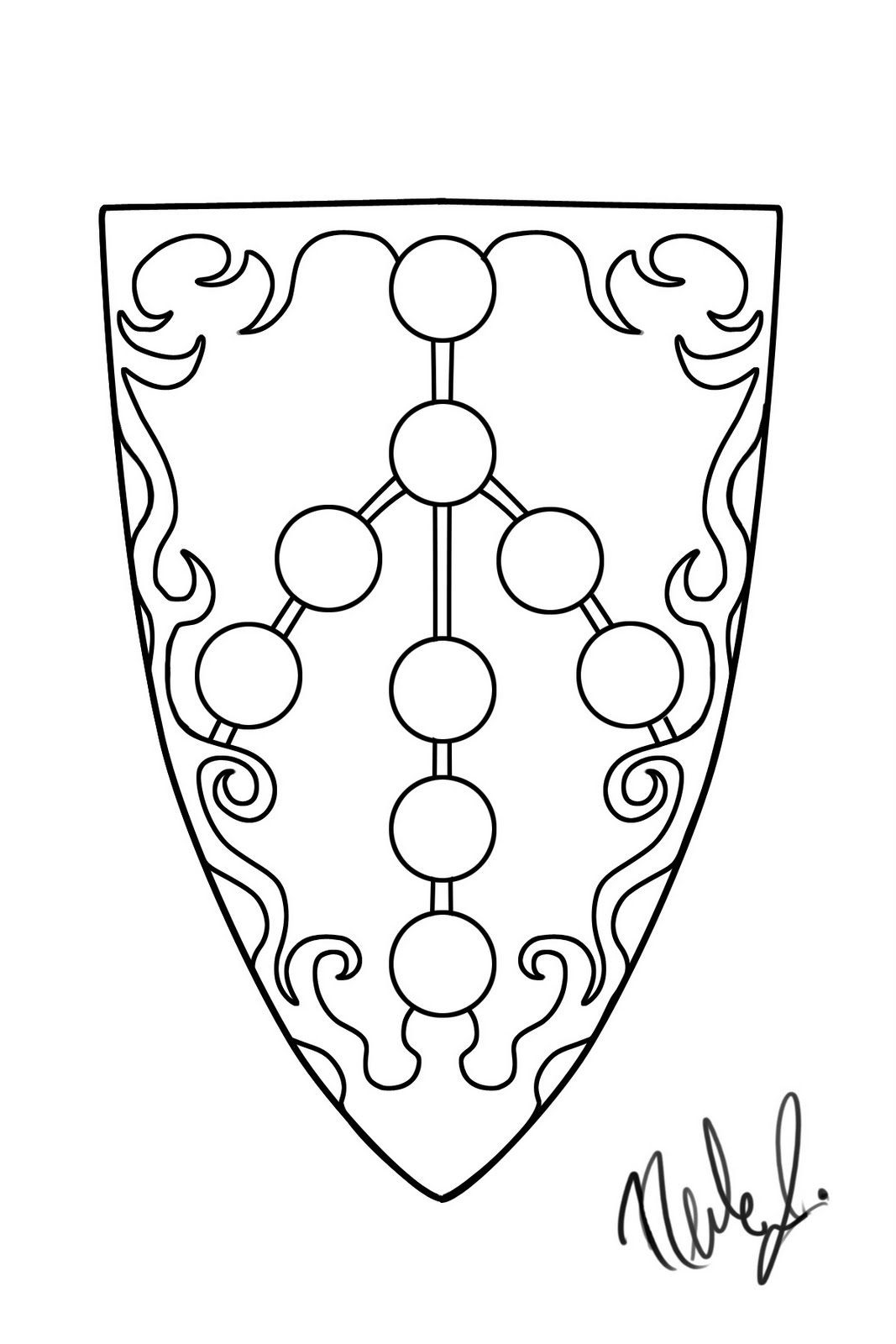 shield coloring pages clipart best sketch coloring page