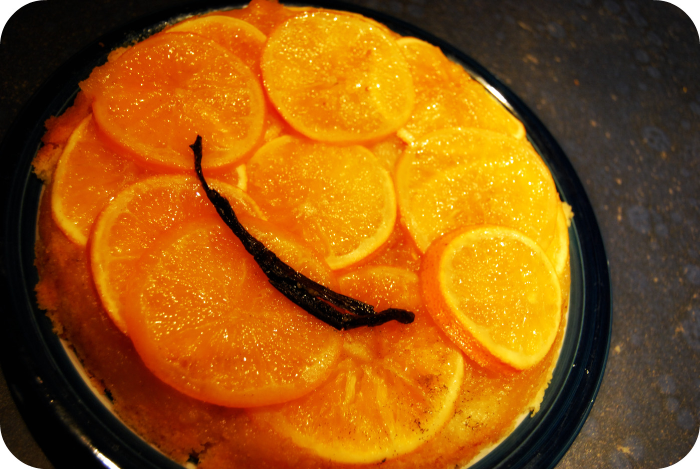 it s a orange and vanilla upside down cake a donna hay seasons recipe ...