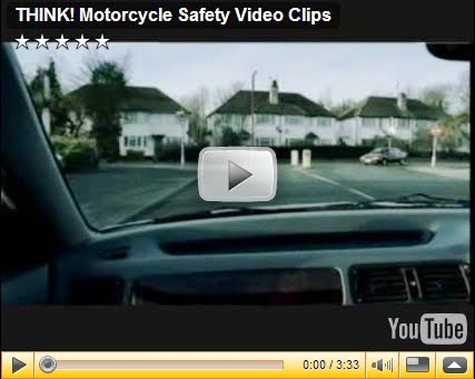 THINK! Motorcycle Safety Video Clips