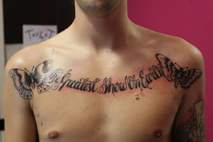 Shaun 39s chest one of my first attempts at script so i was pretty nervous