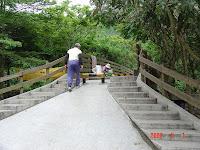 木棧橋入口
