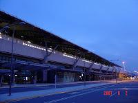 清晨的高鐵烏日站