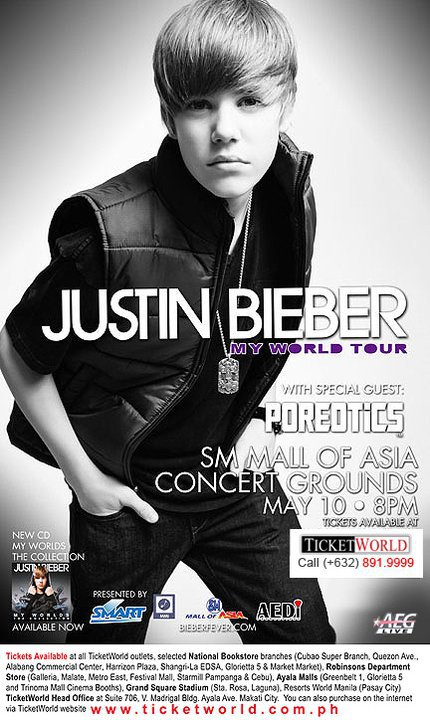 UPDATE: Justin Bieber live in the philippines Ticket Update, posters out now