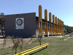 Primera etapa construida el Nuevo Taller (Ver Video discurso Martín Verardi de Siderar)