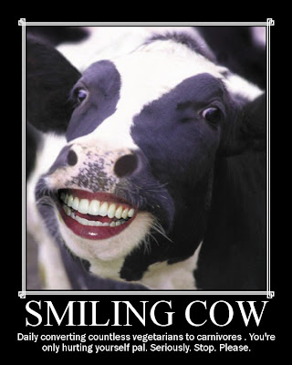 Funny cow smiling - photo#19