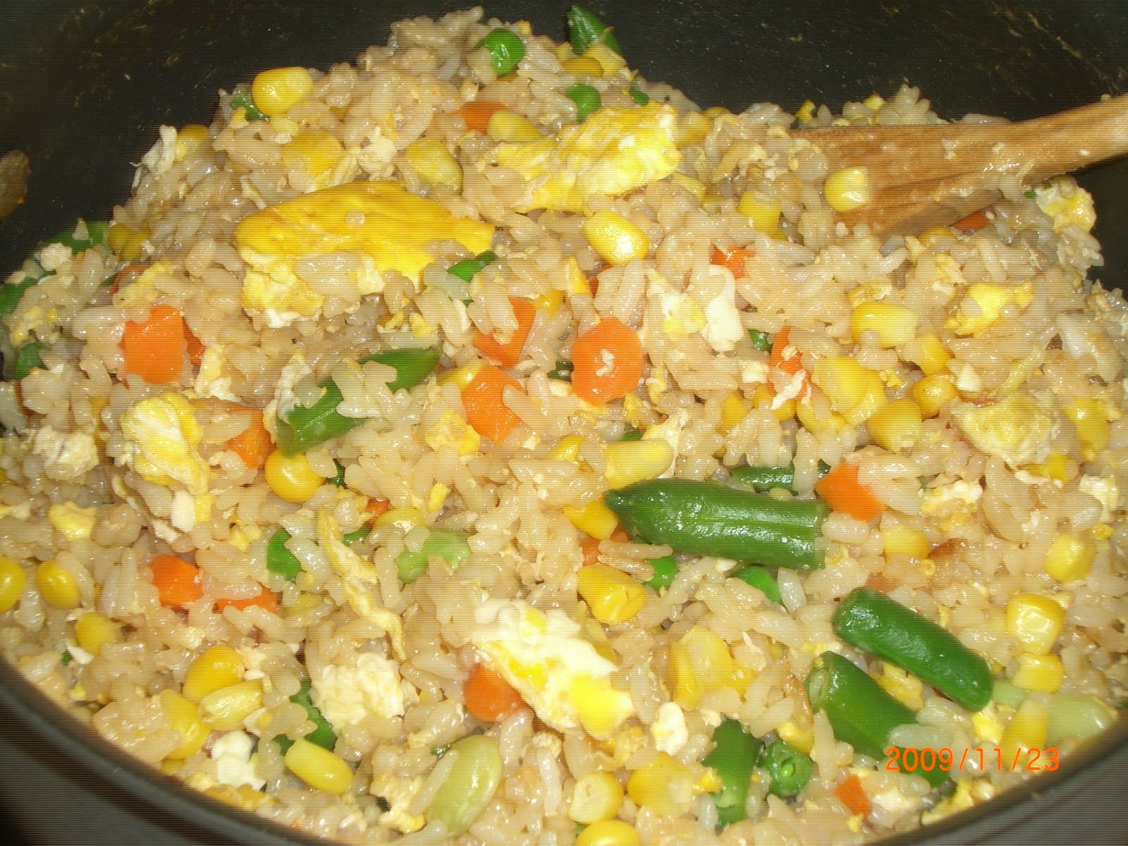 How to cook curry fried rice