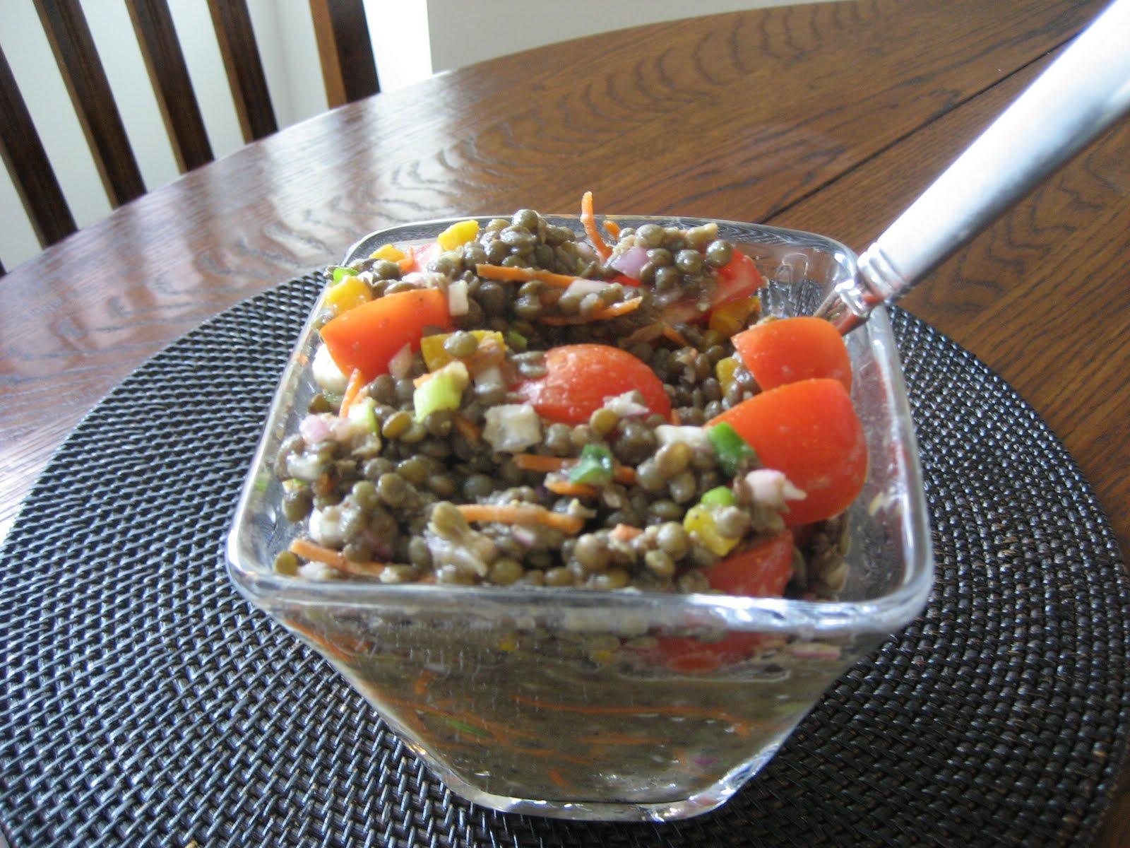 Smoked Lentil Salad With Sriracha Miso Mayonnaise Recipes — Dishmaps