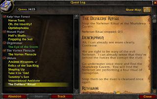 The Defilers's Ritua quest