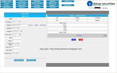 SBICAP Securities Online Trading Platform- LITE