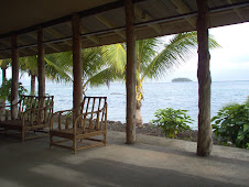 View from the Beach Fale