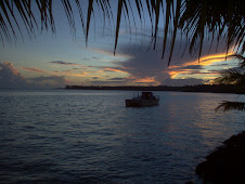 Sunset in Poutasi