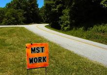 MST road sign