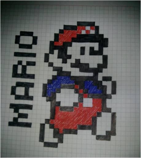 Imagenes de Mario Bros pixeladas - Imagui